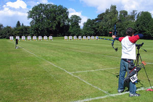 archery practice field