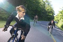 women cyclist