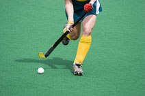 playing field hockey