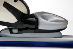 ski binding and ski boot