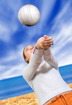 beach volleyball player
